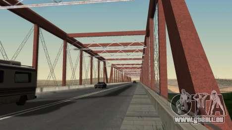 Le nouveau pont de LS-LV pour GTA San Andreas quatrième écran