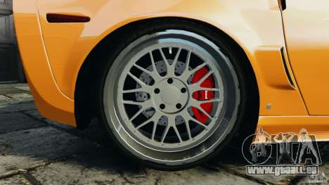 Chevrolet Corvette ZR1 für GTA 4 Räder