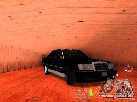 Mercedes-Benz 230E für GTA San Andreas linke Ansicht