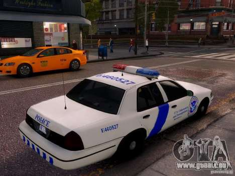Ford Crown Victoria Homeland Security für GTA 4 linke Ansicht