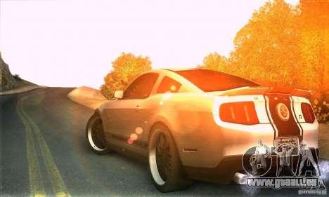 Real HQ Roads pour GTA San Andreas troisième écran