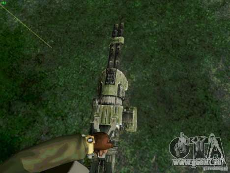 Minigun de Duke Nukem Forever pour GTA San Andreas deuxième écran