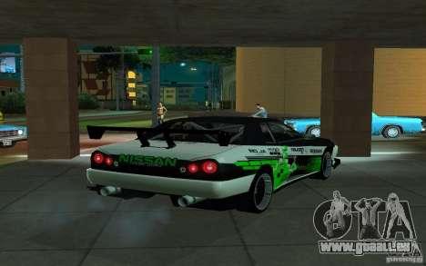 Elégie de PiT_buLL pour GTA San Andreas sur la vue arrière gauche