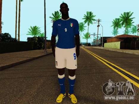 Mario Balotelli v4 pour GTA San Andreas