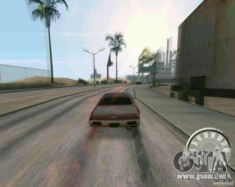 Compteur de vitesse Mustang classique pour GTA San Andreas