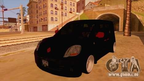 Renault Kangoo für GTA San Andreas