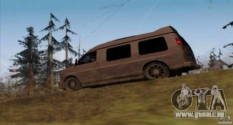 GMC Savana AWD für GTA San Andreas zurück linke Ansicht