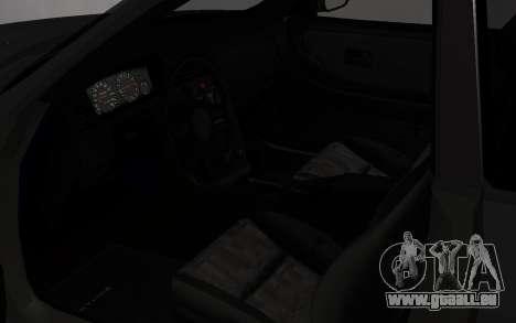 Nissan Skyline GTS25T (R33) pour GTA San Andreas vue arrière