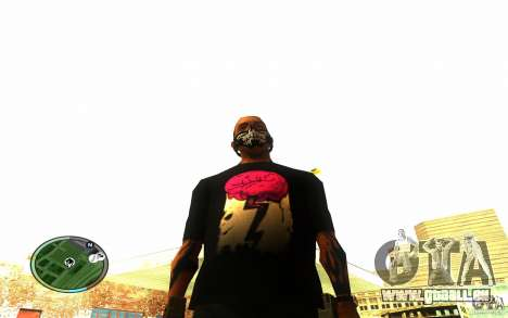 Skull Mask pour GTA San Andreas troisième écran