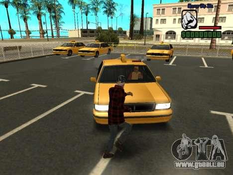 Haut die Bum Jacke für GTA San Andreas zweiten Screenshot