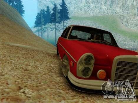 Mercedes-Benz 300 SEL pour GTA San Andreas laissé vue