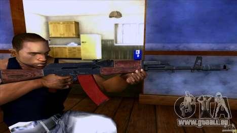 AK-74 für GTA San Andreas