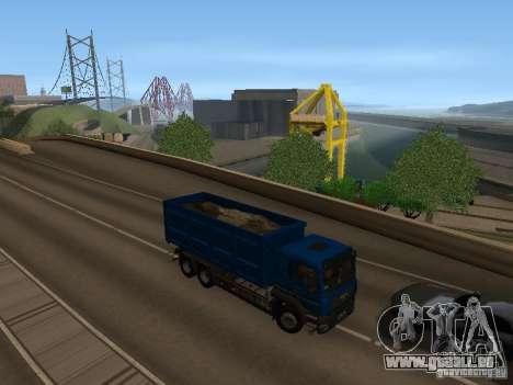 MAN TGA 28 430 PALIFT pour GTA San Andreas vue arrière