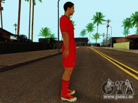 Cristiano Ronaldo v4 pour GTA San Andreas deuxième écran