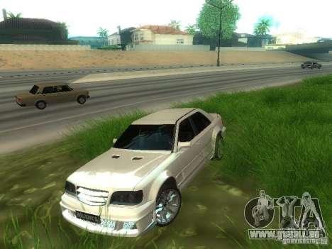 Mercedes-Benz W124 BRABUS pour GTA San Andreas