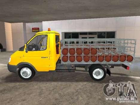 GAZ 3302 Balonovoz pour GTA San Andreas laissé vue