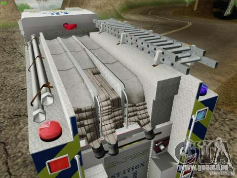 Pierce Pumpers. B.C.F.D. FIRE-EMS für GTA San Andreas obere Ansicht
