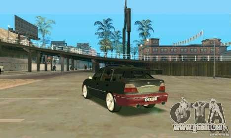 Daewoo Nexia Tuning pour GTA San Andreas sur la vue arrière gauche