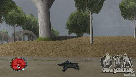 GTAIV HUD für ein Wide screen (16: 9) v2 für GTA San Andreas dritten Screenshot