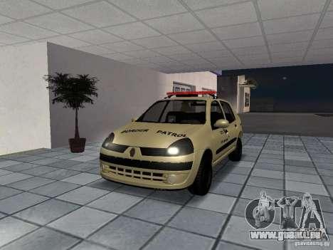 Renault Clio Symbol Police für GTA San Andreas