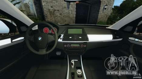 BMW X1 pour GTA 4 Vue arrière