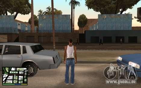 GTA V Interface pour GTA San Andreas