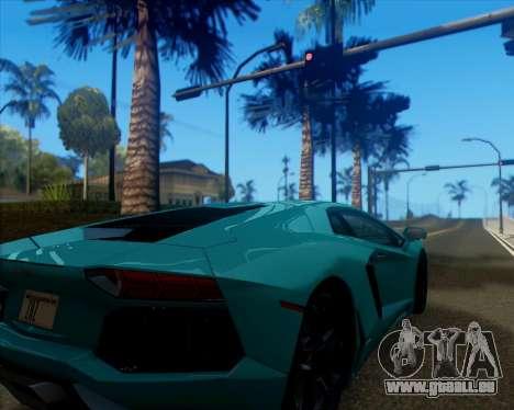 ENB v1.1 pour moyen- et haute puissance PC pour GTA San Andreas troisième écran