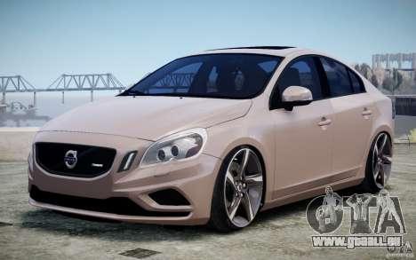 Volvo S60 R-Design 2011 pour GTA 4 est une vue de l'intérieur