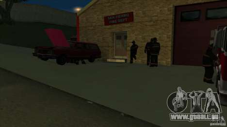 Revival Fire station in San Fierro V 2.0 Final für GTA San Andreas her Screenshot