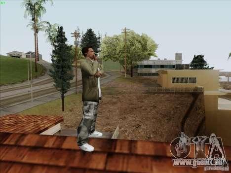 Gentleman Dance Animation für GTA San Andreas dritten Screenshot