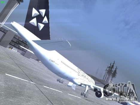 Airbus A330-300 Air Canada pour GTA San Andreas vue de droite