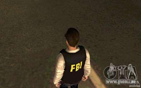 FBI HD pour GTA San Andreas troisième écran