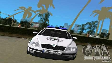 Skoda Octavia 2005 für GTA Vice City zurück linke Ansicht