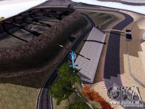Laguna Seca Raceway pour GTA San Andreas quatrième écran