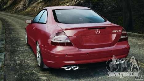 Mercedes-Benz CLK 63 AMG für GTA 4 hinten links Ansicht