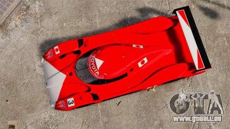 Toyota GT-One TS020 für GTA 4 rechte Ansicht