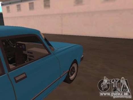 Moskvich 2140 SL pour GTA San Andreas vue arrière