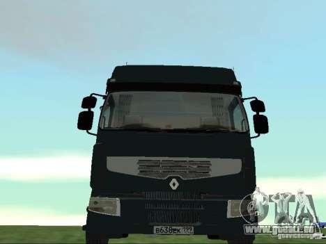 Renault Premium pour GTA San Andreas vue de côté
