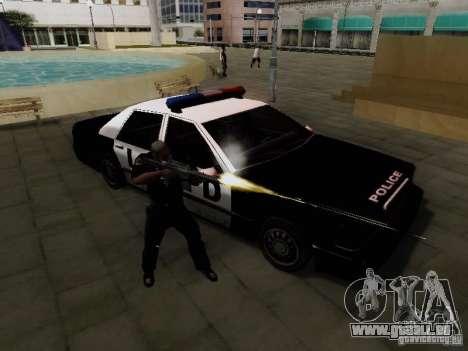 Elegant Police LS pour GTA San Andreas vue de droite