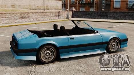 Uranus-Cabrio für GTA 4 linke Ansicht