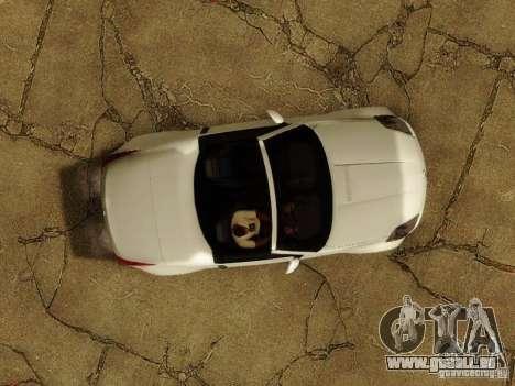 Nissan 350Z Cabrio für GTA San Andreas Seitenansicht