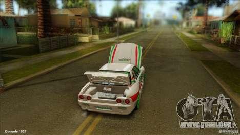 Nissan Skyline GT-R32 BadAss für GTA San Andreas linke Ansicht