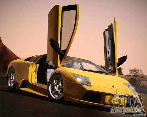 Lamborghini Murcielago 2002 v 1.0 für GTA San Andreas obere Ansicht