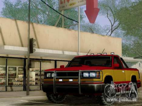 Yosemite Custom pour GTA San Andreas