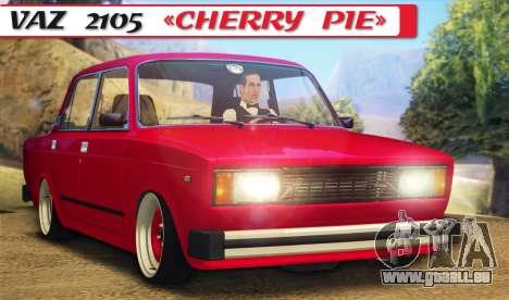 VAZ 2105 Cherry Pie pour GTA San Andreas