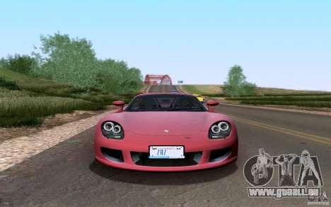Porsche Carrera GT für GTA San Andreas Innenansicht