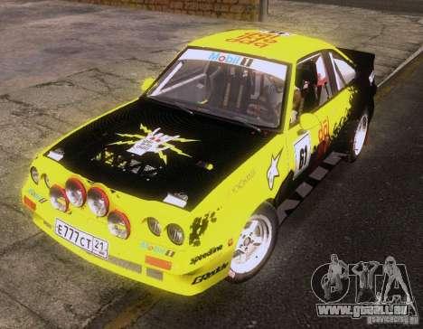 Opel Manta 400 pour GTA San Andreas vue arrière