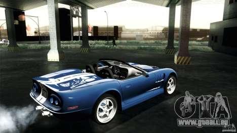 Shelby Series 1 1999 pour GTA San Andreas vue de droite