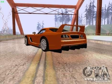 Dodge Viper GTS-R Concept für GTA San Andreas rechten Ansicht