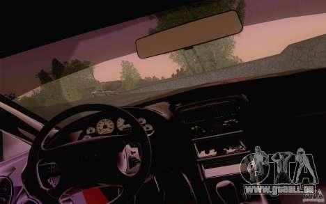 Ford Mustang SVT Cobra 2003 Black wheels pour GTA San Andreas vue arrière